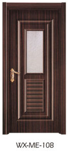 Low Price Excellent Quality Hotsale Melamine Door (WX-ME-108) pictures & photos