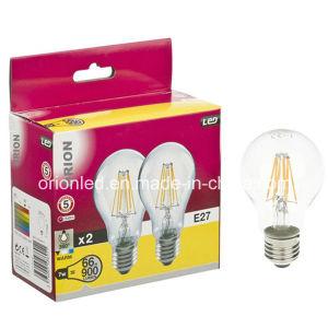 Edison Style UL LED Bulb A60 E27 4W LED Filament Bulb pictures & photos