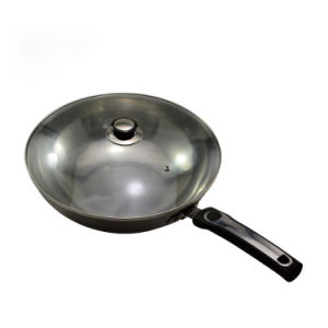 Pure Iron Wok Cookware (QW-SH-2) pictures & photos