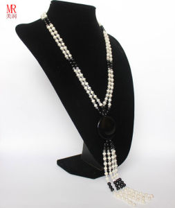 Fresh Water Long Pearl Necklace pictures & photos