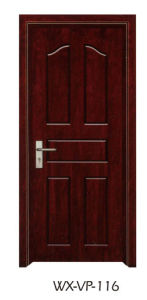 High Quality Wooden Door (WX-VP-116) pictures & photos