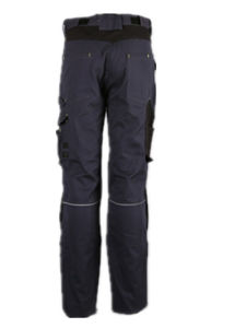 Fashion Style Navy Mens Cotton Canvas Multi-Pockets Cargo Pants with Knee Pad pictures & photos
