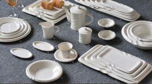 Porcelain Dinnerware Set for Hotel Supplies