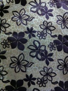 100%Nylon Flock Fabric for Furniture Double Flocked Fabric (F002) pictures & photos