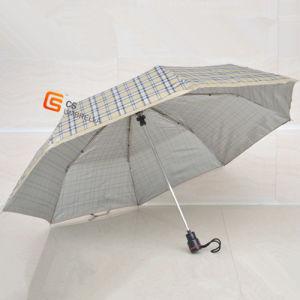 21*8k Three Fold Umbrella Sliver Coated Fabric (YS-3F3002A)