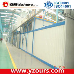 Powder Coating Plant with Tunnel Oven pictures & photos