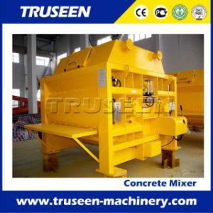 Js1000 Twin Shaft Belt Mixer 1m3 Continuous Concrete Mixer pictures & photos
