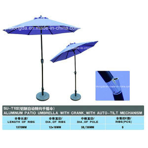 Tilt-Mechanism Aluminum Patio Umbrella (YSBEA0003) pictures & photos