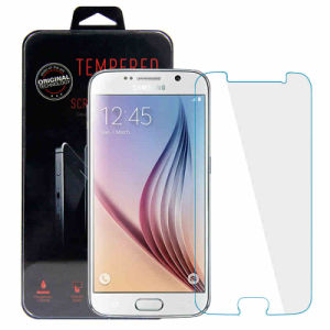 Mobile/Cell Phone Accessories Tempered Glass Screen Protector for Samsung S6 pictures & photos