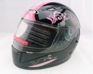 full face helmet with double visor