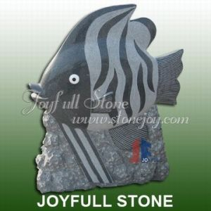 Stone Fish Sculpture (KY-567)