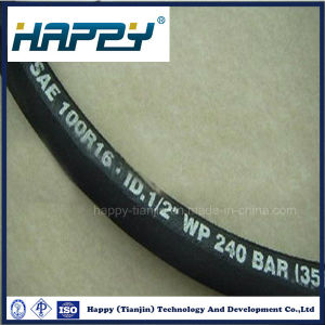 SAE 100r16 Steel Wire Braided Hydraulic Rubber Hose pictures & photos