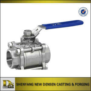 304/316 Stainless Steel Ball Valve pictures & photos