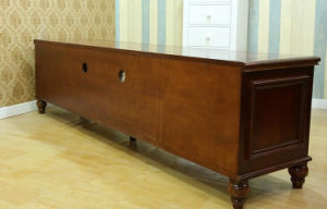 Solid Wooden Living Room Cabinet TV Stand (M-X2201) pictures & photos