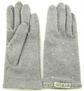 Lady Fashion Wool Gloves (JYG-25039) pictures & photos