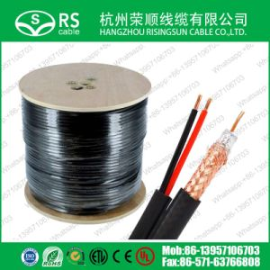 CCTV Cable Rg59 with 2*0.75mm2 Power Cord Cable for Camera