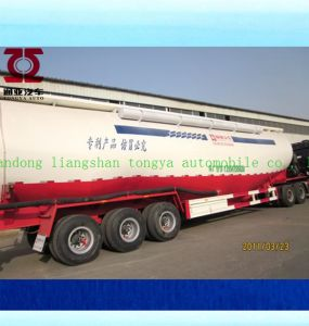 New Dry Bulk Cement Powder Delivery Truck, Bulk Cement Trailer pictures & photos