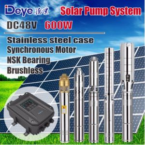 DC 48V 600W Submersible Solar Water Pump with MPPT Controller pictures & photos