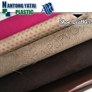 New Design Colorful PVC Fabric Leather for Shoes/Bags
