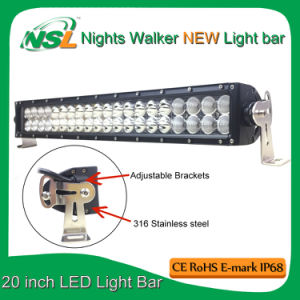 San Young 20 Inch LED Light Bar CREE Curved Offroad Driving Lights Bar Use for Driving LED Light Bar pictures & photos