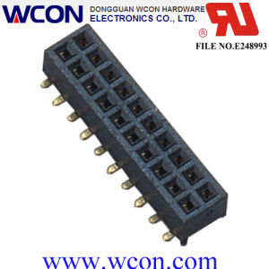 1.27mm Double Row 180 Degrees SMT Female