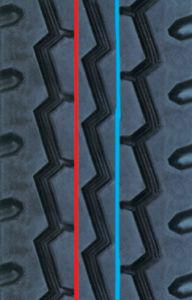 Precured Tread Rubber for Tire Retreading-Pattern B