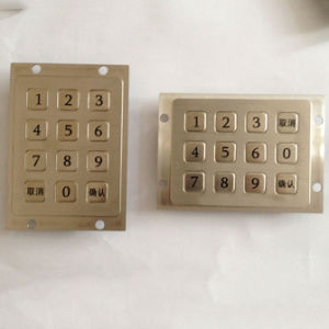 Hot Selling 3X4 Matrix Metal Keypad