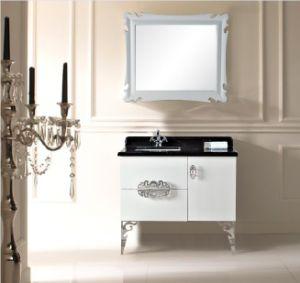 Glossy White New Classical Bathroom Vanity