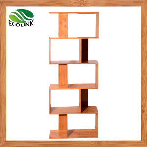 Bamboo Bookshelf Storage Book Rack pictures & photos