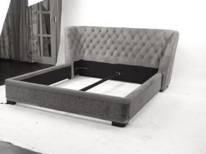 New Arrive Leather Fabric Sofa Bed pictures & photos