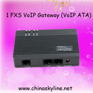 1 Port FXS VoIP ATA Gateway, VoIP ATA Adapter for Call Centre