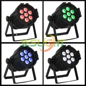 Colorful LED Stage Spot Light Wholesales Price 10W*7PCS RGBW 4in1 LEDs for Disco Light pictures & photos