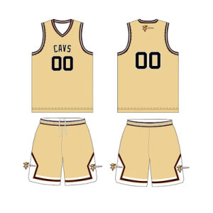 Cool-Dry Sublimation Basketball Jersey for Cavs (DPBJ-0015) pictures & photos