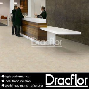 Stone Pattern Vinyl Flooring Hotel Lobby Flooring (F-1151) pictures & photos