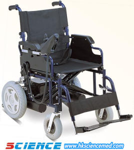 Foldable Economic Steel Power Wheel Chair (SC-EW01) pictures & photos