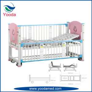 Full Length Aluminum Alloy Side Rail Hospital Pediatric Bed pictures & photos