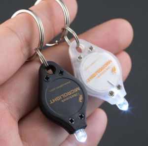Flashing LED Key Chain with Logo Printed (3032)