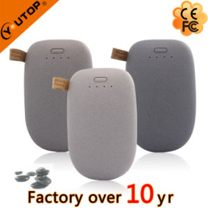 Promotional Gift Pebble Stone Power Bank 4800/6000/7200/8000/88000/10400/12000mAh (YT-PB27-02) pictures & photos