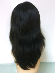 "100% Human Hair Jewish Wigs with Hair Length 16"" pictures & photos"