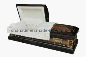 Us Style 18 Ga Steel Casket  (18h2158) pictures & photos