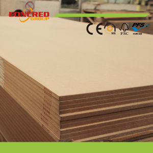 Plain MDF Board, Raw MDF Board with High Quality From China Eoncred pictures & photos