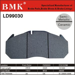 Preminum Truck Brake Pads (LD99030) pictures & photos