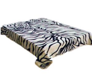 Hot Sale 100% Polyester Raschel Blanket Sr-B170305-17 Soft Printed Mink Blanket pictures & photos