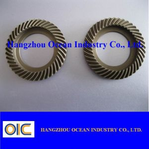 Gleason Steel Bevel Gear Pinion pictures & photos