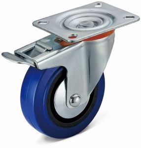 Medium Duty Caster with Total Brake