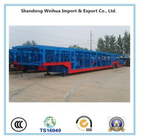 10 Units Car Carrier Semi Trailer, Car Transporting Trailer From Manufacture pictures & photos