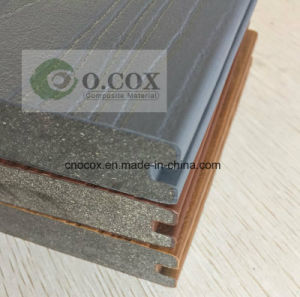 2017 New Generation Co-Extrusion WPC Composite Decking pictures & photos