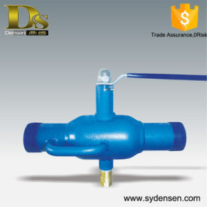 China Manufacturer Automatic Flushing Filter Ball Valve pictures & photos