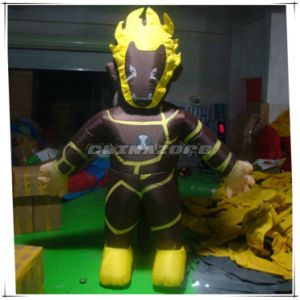 Custom Made Ben10 Fireman Character Inflatable Movable Cartoon Costume