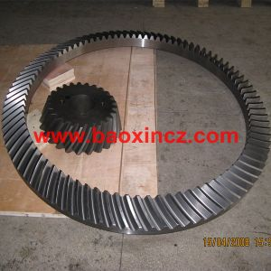 Zp37.5 Rotary Table Spiral Bevel Gear pictures & photos
